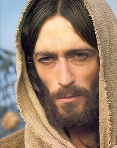 Images of Jesus...which do you connect with?  Actor Robert Powell played the part of Jesus in the movie Jesus of Nazareth in 1977.