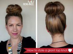 Hair-Romance-big-bun-tutorial