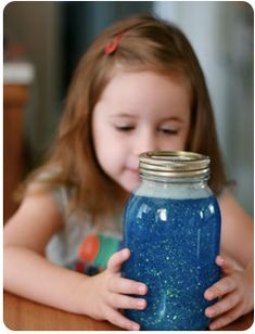 time-out glitter jar