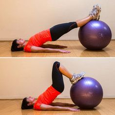 Exercise ball workouts - I LOVE this exercise, burns so good! - I found a really good site on the Best price on Yamuna Body Rolling Balls visit www.yamunabodyrolling.org   Hope that helps save some money  ;)