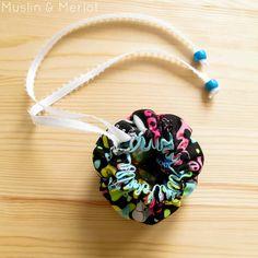 DIY: fabric pouch