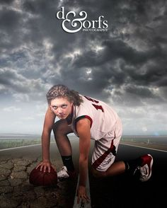 Another awesomeness basketball senior portrait.