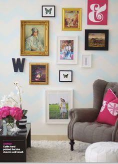 wall art, galleries, frames, gallery walls, galleri wall, frame arrangements, photo collages, chevron, art walls