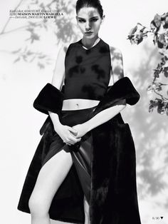 Gölge Oyunu: Kate Bogucharskaia by Jem Mitchell for Vogue Turkey, November 2013