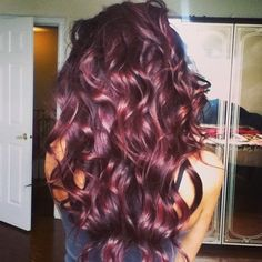 Burgundy Hair Color this is exactly what I want