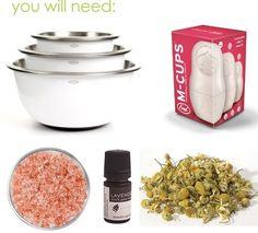 Tutorial: Make Your Own Bath Salts DIY
