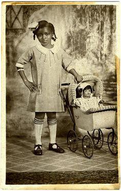 Two little dolls, 1925.
