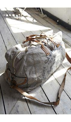 Duffle bag...