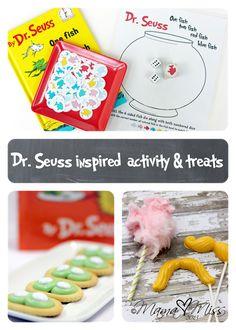 {Dr. Seuss inspired} activity treats @mamamissblog #drseuss