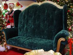 Santa's Library Settee