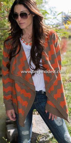www.sexymodest.com #fall #fashion #design #swag #pretty #love #beautiful #glasses #chevron #sweater #jeans #model Follow us on Instagram @modestshoppin