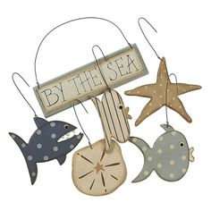 By The Sea Ornaments