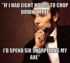 Abe's Secret To Success