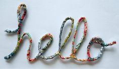 wrapped wire words  (from Liberty Scrap Challenge via Nova)