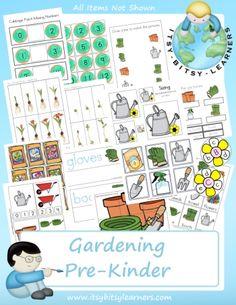 garden theme printables