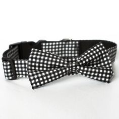 Bow Tie Collar Black White, $30, now featured on Fab.....Rover Boutique