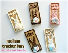 Sugar Swings! Serve Some: Easy Graham Cracker Bars for Easter