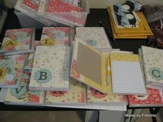 Stamp & Scrap with Frenchie: Case for Note pad holder