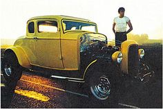 John Minlers' (Paul LeMatt) 32 Ford coupe from America Graffiti