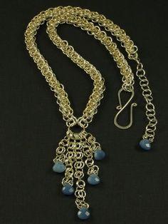 Montagem de Bijuterias - Como Fazer e Vender, Passo-a-Passo, Idéias e Mais!: Moda Bizantina e Técnica de Chainmaille