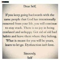 ~ love this ~  strange that when you let go of the craziness...the crazy just keeps following you !!!  Be nice if all the finger pointers took their own advice and ...LET IT GO !!!  I did !!!