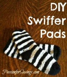 Find out how to make your own DIY Swiffer Pads! No more expensive replacements! #diy