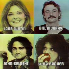 some of the SNL cast, 1978