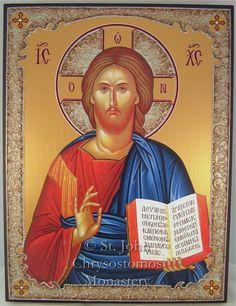 Cruz y Columna Estilos - Monasterio ortodoxo griego de San Juan Crisóstomo