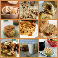 Reasons To Eat Cookie Butter for Breakfast {A Recipe Round-Up} via thefrugalfoodiemama.com sweet breakfast, foodies, crust blog, frugal foodi, cooki butter, recip roundup, potlucks, dessert, eat cooki