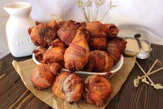 Fried Bacon Cinnamon Rolls
