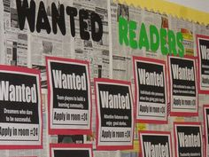 """Back to school classified board:  """"Wanted adventurous souls ready to exercise their minds"""" is just one of the unusual ads"""