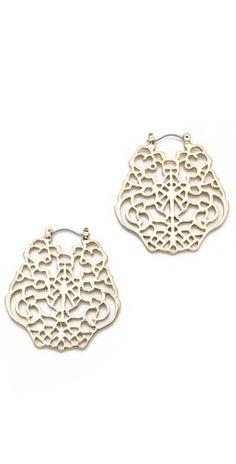 Juliet & Company French Lace Earrings