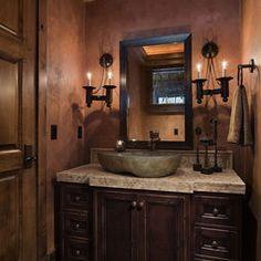 rustic bathroom remodeling