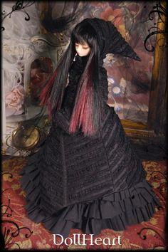 dark gothic doll