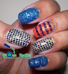 WoW Nails: NOTD: Glitter Bomb Nail Art