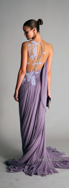 long dresses, fashion, backless dresses, purple, bridesmaid dresses, prom, dress styles, formal gowns, back details