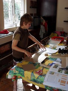 Planning your homeschooling room. Super practical tips from a mom whose done it for a while.