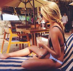summer styles, hair colors, braid for beach, beach tanning, suit, bikini, beach life, beach hair, summer time