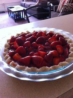 YUM yum YUM Strawberry Pie for #SundaySupper Dessert  @Shelly Figueroa Matushevski