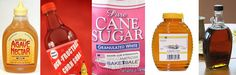 Where do you find fructose? Fructose can be found in (roughly in order from worst to least)...