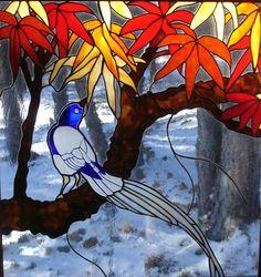 glass art, glasses, hartman stain, judi hartman, design art, etch bird, stain glass, glass bird, stained glass