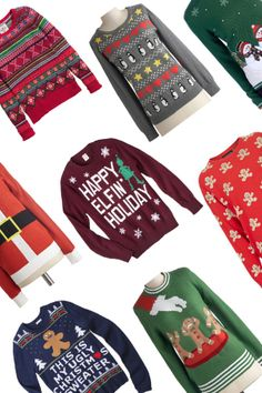 Party Time: Ugly Christmas Sweaters