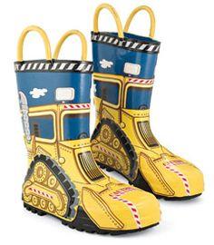 Kid at Work Rain Boots