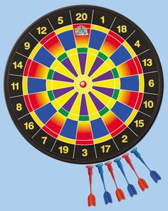 Magnetic Safety Dartboard