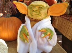 Yoda Pumpkin for Hal