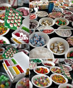 Candy!!  Plus, I love this blog and the ideas they shared for a house decorating party!
