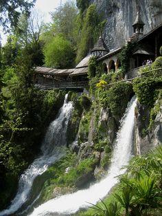 St. Beatus Caves, Switzerland.