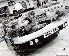 sofa and car