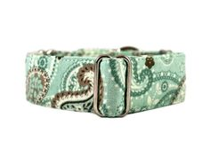 Martingale collar that has just the right colors for winter!