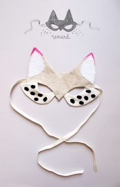 Cool cat mask....